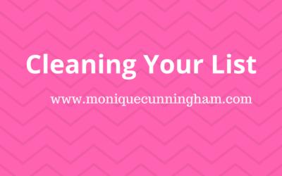 Keep Your List Clean